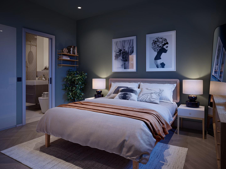 Ninety90 Watermark Bedroom Render 2