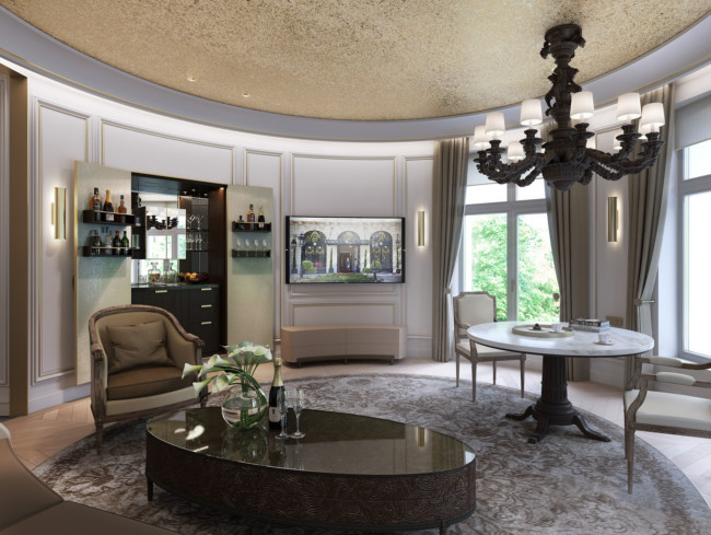 Ninety90 Ritz Madrid Reception Render 07